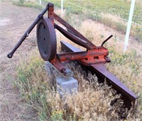 Lot 5007 - Rear Blade, 6', Click catalog tab to view information & more pics of this item.  This item has absentee bidding.