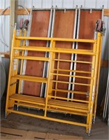 5015 - Scaffoldinig Unit #1, Click catalog tab to view information & more pics of this item.  This item has absentee bidding.