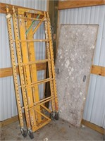 Lot 5016 - Scaffolding Unit #2, Click catalog tab to view information & more pics of this item.  This item has absentee bidding.