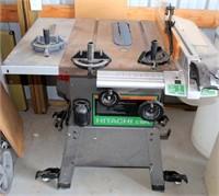 Hitachi C10FL Table Saw