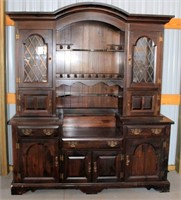 Heavy/Solid Wood China Cabinet