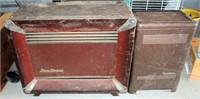 (2) Vintage Heaters