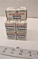 5 Boxes of 22 Magnum Shells, Bidder Must have a