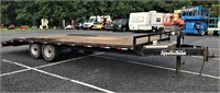 2016 Appalachian 22' Flat Bed Trailer