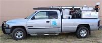Lot 5002,  2001 Dodge Ram 2500 - Absentee bidding available on this item.  Click catalog tab for more pics, video & info.