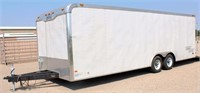 Lot 5003,  2006 Haulmark Enclosed Trailer - Absentee bidding available on this item.  Click catalog tab for more pics & info.