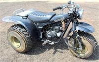 Lot 5009, Kawasaki 3-Wheeler ATV - Absentee bidding available on this item.  Click catalog tab for more pics, video & info.