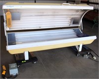 Lot 5010, SunQuest Pro 24 SX-2F Tanning Bed - Absentee bidding available on this item.  Click catalog tab for more pics, video & info.