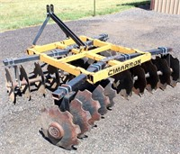 Lot 5014, Cimarron Tandem Disk, 6', 3-Pt   - Absentee bidding available on this item.  Click catalog tab for more pics, video & info.