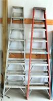 (2) Tall Step Ladders