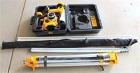 DeWalt Surveying Instrument w/Tri Pod