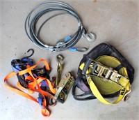Cable, Ratchet Straps