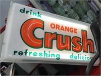 Orange Crush sign