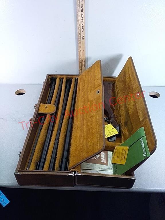 Remington Model 3200 .410bore, 28ga, 20ga, 12ga,