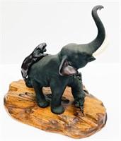 Japanese Bronze Model
