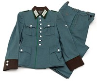 Schutzpolizei Officer's Tunic and Trousers