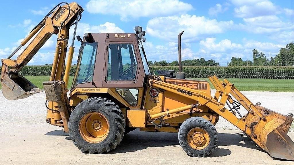 Plymouth Township - CASE 580 Backhoe