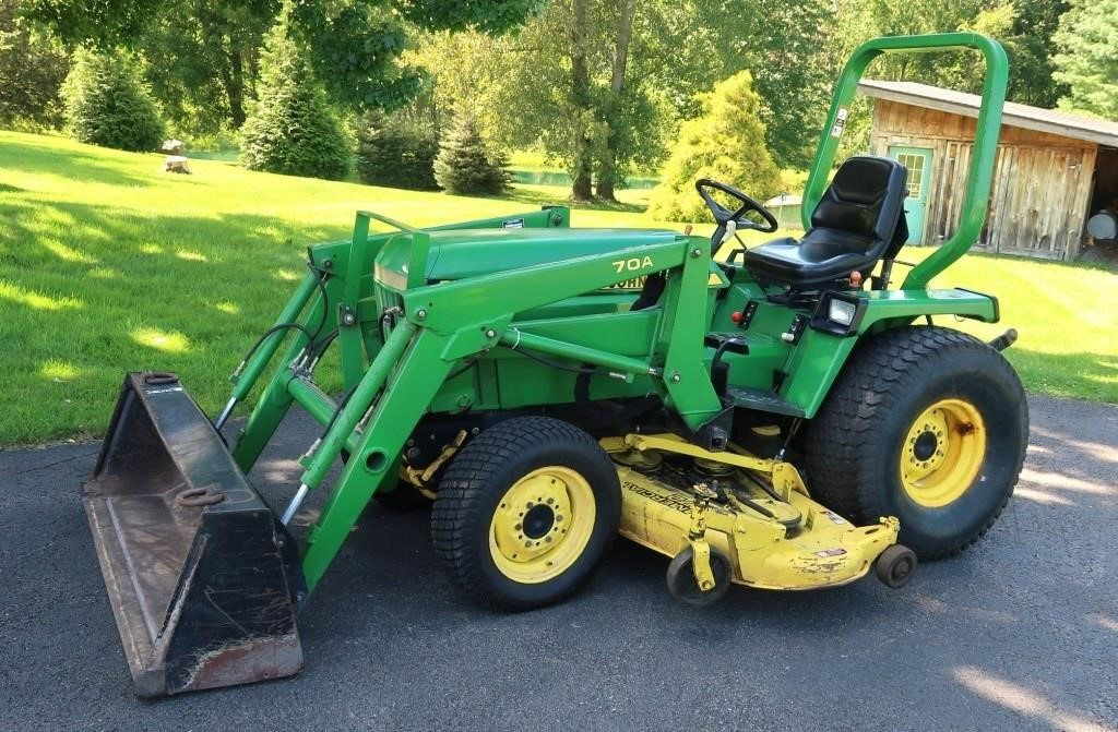 1989 John Deere 955 Diesel Tractor-