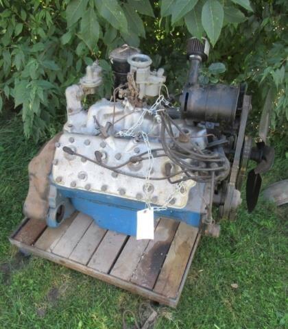 Ford 404 Flat head V8 motor.