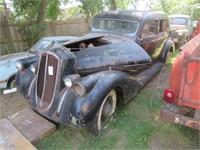1934 Pierce Arrow 1602 2 door club sedan with