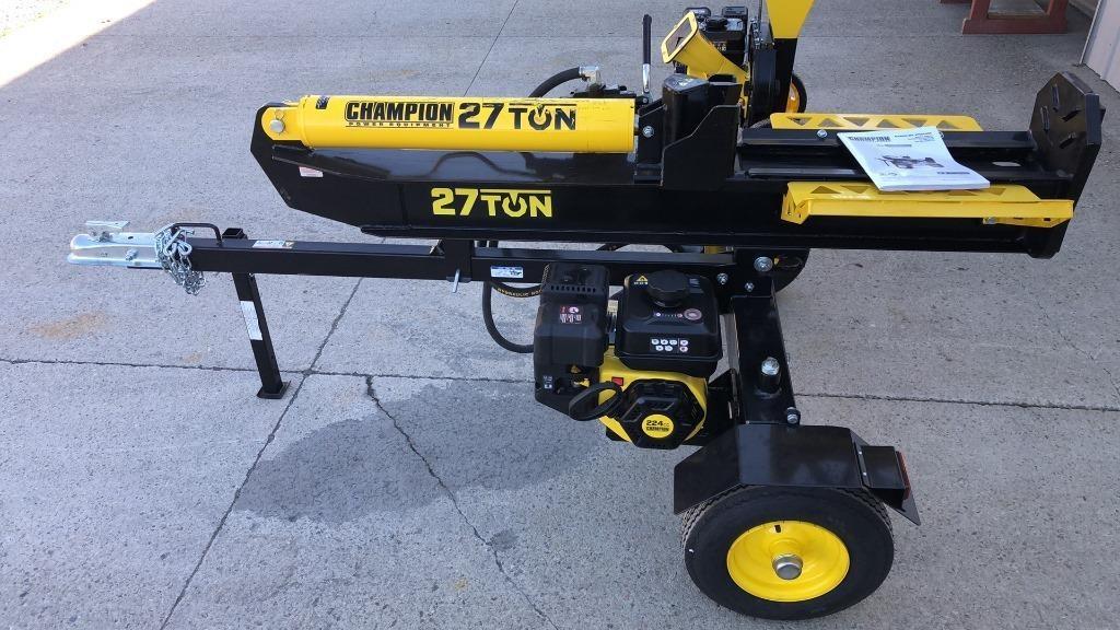 Champion 27 Ton Gas Wood Splitter