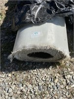 Roll of heavy fiberglass mat. 38 inches long 7