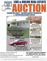 Real Estate Auction - 9/30/21