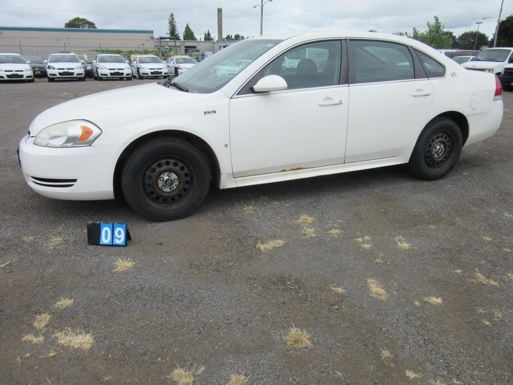 2009 Chevrolet Impala - Police Package