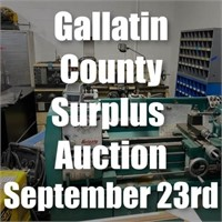 Gallatin County Surplus Auction   September 23rd