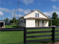 CATTLE/HORSE FARM - FRAME HOME & BARN - PASTURE -Y