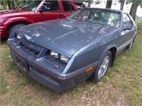 1986 Chrysler Laser XE - Turbo 4 cycle - 5 speed -
