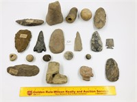 Assorted Artifacts - Found in Russell County, KY