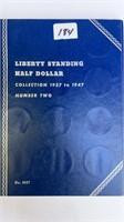 Liberty Standing Half Collection 1937-1947  23