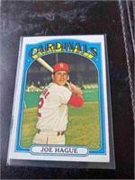 JOE HAGUE 1972 topps