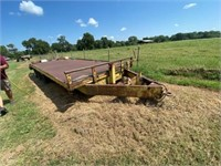 Pintle Hitch All Metal Trailer 3-axle w/4ft Ramp 6