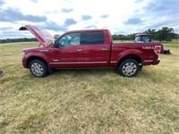 2014 Ford Platinum F150 Pickup  4x4 3.5L V6 Eco Bo