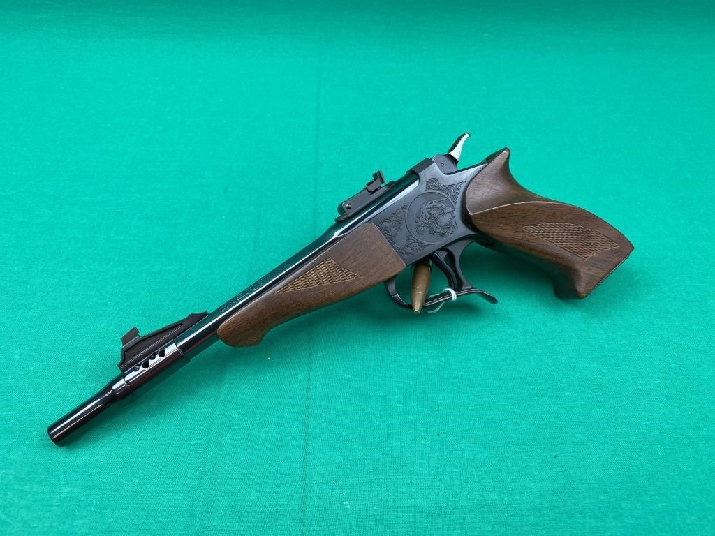 Thompson contender G1 single shot pistol with 45