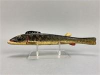 Oscar Peterson Walleye Fish Spearing Decoy