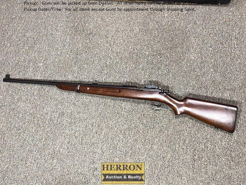 Winchester Model 52 Bolt Action 22 Long R