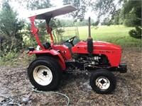 2003 Homier's Farm Pro 2420 2WD diesel farm