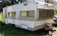 1980+/- Prowler 18' Travel Trailer (As Found)