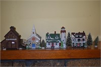 Estate Shirley Green & others 4 Runner,LaVerne Table, Decoys