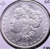1878 CC MORGAN DOLLAR CHOICE BU