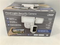 Flood Light Motion Activation Security Camera