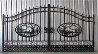 14' - 2 Piece Wildlife Design Gates