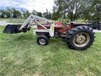 Farm Equipment | Tractors | Round & Square Baler | Auger
