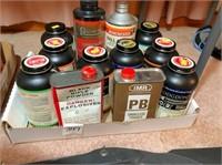 12-cans black powder