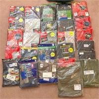 box of XL T-shirts & Merino wool insulayer