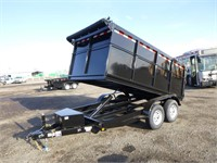 2022 FSTRT 6.5x12 T/A Dump Trailer