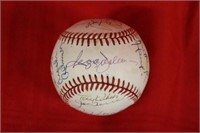 Authenticated Signed Major League Baseball 7 HOA's